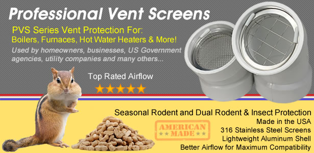 Pvc Vent Screens High Efficiency Furnace Hot Water