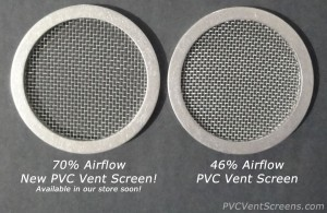 Comparison of PVC Vent Screens