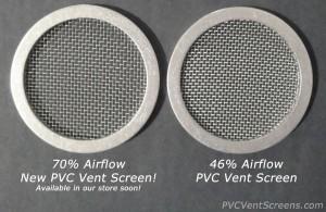Comparison of PVC Vent Screens