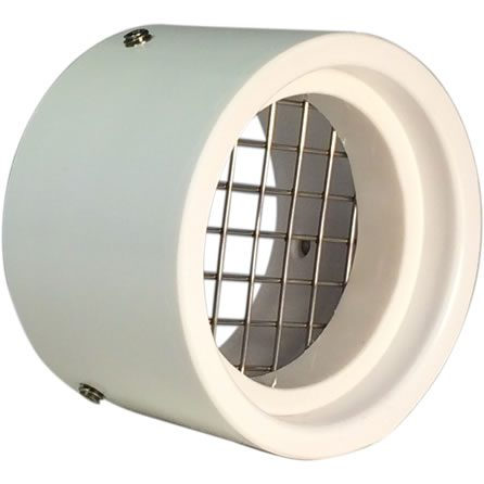 "SVC-RS15 Screened 1-1/2"" PVC Vent Cap for Rodents"
