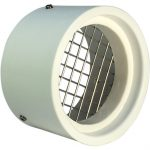SVC-RS2 PVC Vent Cap with Screen