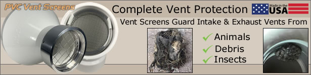 Vent Screen Selection in Store